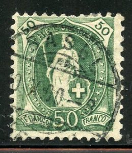 Switzerland # 96, Used. CV $ 27.50