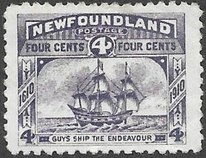 Newfoundland Scott Number 90 VF H