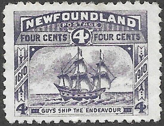 Newfoundland Scott Number 90 VF H