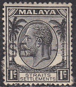 Straights Settlement 217 King George V 1937
