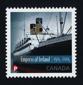 Canada 2745 MNH Empress of Ireland, Ship