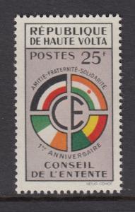Upper Volta 90 mnh