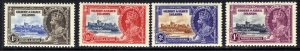 Gilbert & Ellice 1935 KGV Set 4 Silver Jubilee MM SG 36 – 39 ( E1418 )