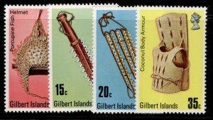 GILBERT ISLANDS QEII SG43-46, complete set, NH MINT.
