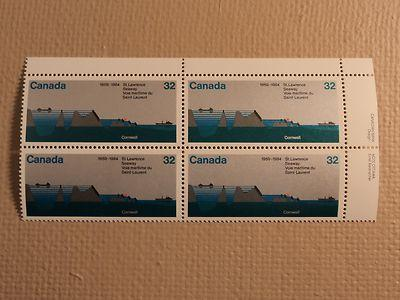 Canada Post Scott 1015 32c St Lawrence Seaway 1959-1984 M...
