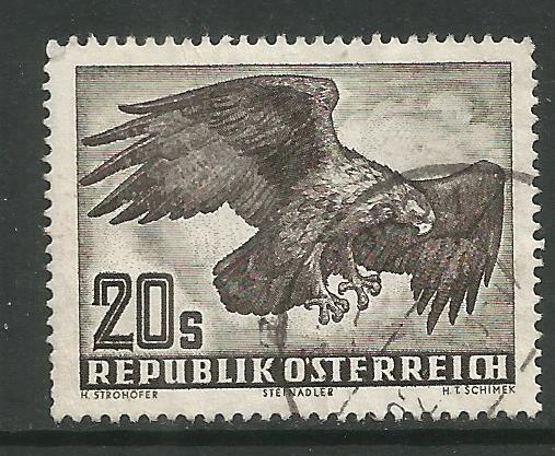 AUSTRIA  C60  MINT HINGED, GOLDEN EAGLE