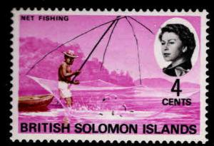 British Solomon Islands Scott 183 MNH** net fishing stamp