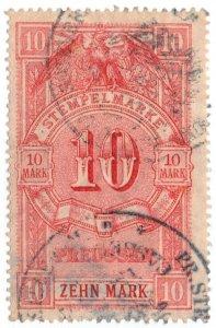 (I.B) Germany Revenue : Prussia Duty 10M