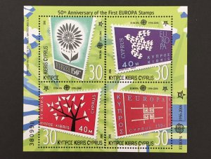 Cyprus 2006 #1048 S/S, Europa 50th Anniversary, MNH.