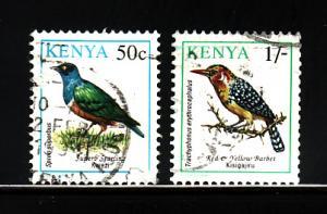 Kenya 594, 597 U Birds (A)