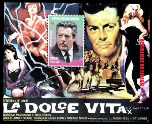 Senegal MNH S/S 1349 La Dolce Vita Movie Poster 1998