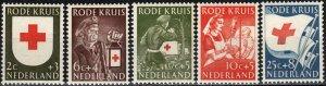 Netherlands #B254-8   MNH CV $9.95  (X2327)