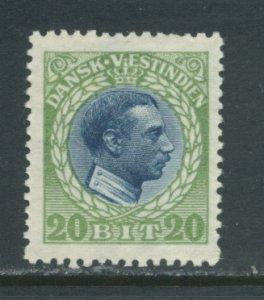 Danish West Indies 54  MHR