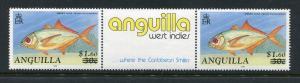 Anguilla 845 MNH, 1992. Marine Life Fish Gutter pairs. x29301