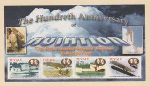 Tuvalu Scott #909-910 Stamps - Mint NH Souvenir Sheet Set