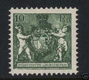 Liechtenstein #73 VF/NH
