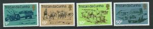 TRISTAN DA CUNHA SG345/8 1983 LAND TRANSPORT MNH