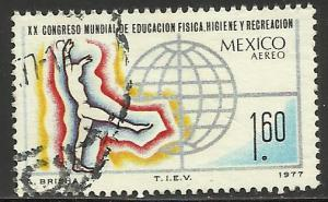 Mexico Air Mail 1977 Scott# C546 Used