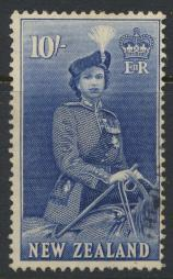 New Zealand SG 736 SC# 301 Used  see details 1953 QE II  Definitive Issue