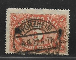 Germany Sc. # 194 Used Inflation Issue Wmk. 126 - L74