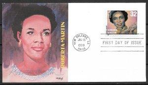 1998 Sc3217 Gospel Singers: Roberta Martin FDC