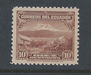Ecuador #326 NH 10c Landscape - Brown