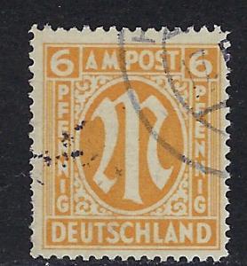 Germany AM Post Scott # 3N5b, used