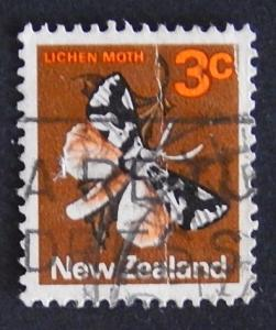 Postage stamp, New Zealand, №9-(24N-2IR)