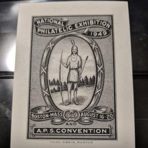 1949 A.P.S. Poster Stamp, eBay $193