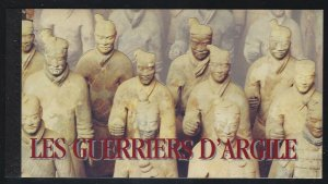 United Nations-Geneva 1997 China Terracotta Warriors booklet Sc# 316 NH
