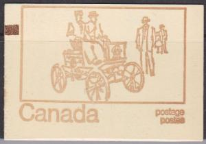 Canada Counter Cover USC #BK69f- Typpe III HF Ottawa Tag - VF-NH