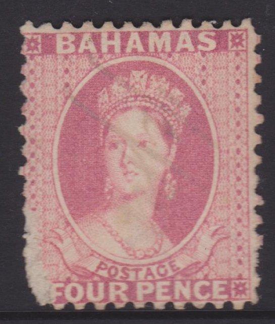 Bahamas Sc#6 Used Perf 12