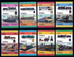 [63489] Tuvalu 1984 Railway Train Eisenbahn Chemin de Fer  MNH