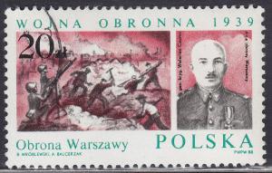 Poland 2865 Polish WWII Battles 20.00zł 1988