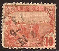 Tunisia  #  34  used
