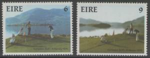 IRELAND SG373/4 1975 AMATEUR GOLF TEAM CHAMPIONSHIP MNH