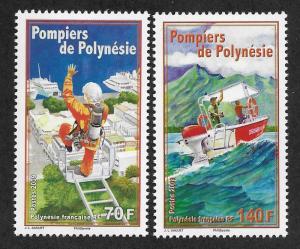 FRENCH POLYNESIA SC# 992-93 FVF/MNH  2009