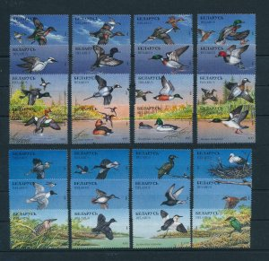 [103130] Belarus 1996 Birds vögel oiseaux 28 Values MNH