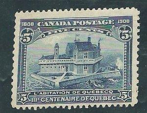 Canada 99  Used 1908   PD