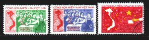 Vietnam. 1976. 65-67. Elections to the National Assembly. USED.