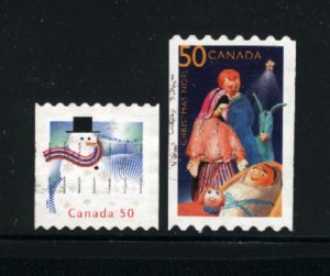 Canada #2124-25  -1  used  VF 2005 PD