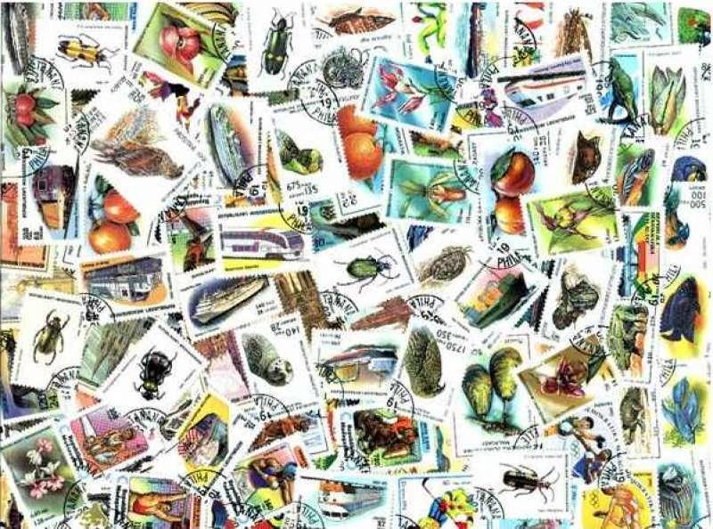 Madagascar Stamp Collection - 100 Different Stamps