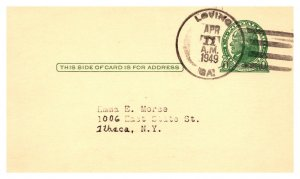 United States, Georgia, United States Government Postal Cards