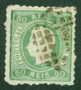 PORTUGAL #29, Used, Scott $110.00