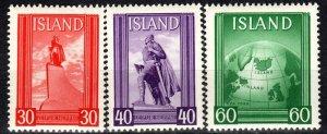 Iceland #B6a-6c MNH CV $3.75 (X1155)