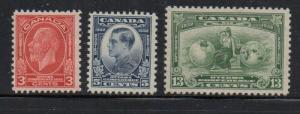 Canada Sc  192-4 1932 Imperial Economic Conference stamp set mint