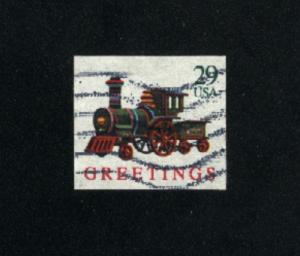 USA #2719  3 used 1992 PD .08
