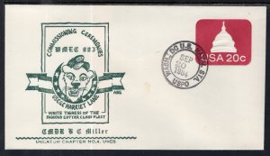 US Coast Guard Cutter Harriet Lane Commissioning 1984 Naval Cover