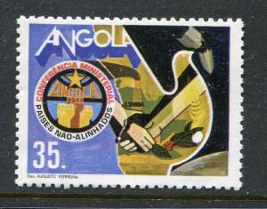 Angola 712, MNH,1985 Non-Aligned Countries Conference  x29180