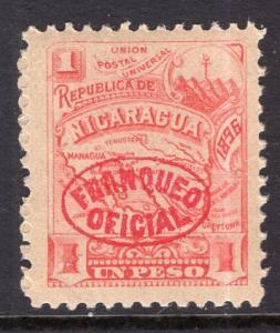 Nicaragua O97 Unused Mint Hinged BIN